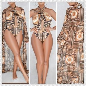 Other - *JUST IN* ELEGANT Suit & Cover up